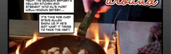 DISH, Dua Annexe: The Art of Dish-ing by Chef Steve Allen