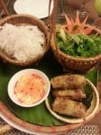 Spring roll galore@Essence Restaurant, Old Quarters