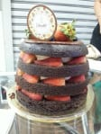 Birthday tiered cake@Delectables