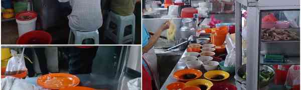 KY eats – Three Breakfast Choices at Ayer Panas Wet Market