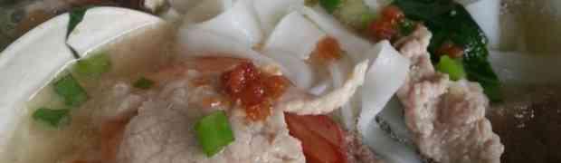 Kueh teow soup Kuching style@Spring Delight Café, Kuching