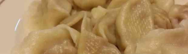 Home made yummy dumplings!@Lee's family home
