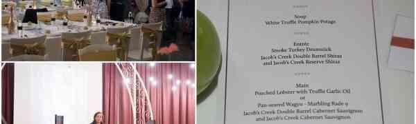 KY eats – Jacob's Creek Double Barrel Wine Dinner at Eight Gourmet Gala