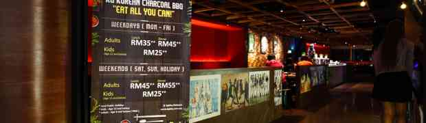 KG Korean Charcoal BBQ Buffet @ Da Men Mall, USJ