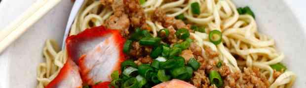 Sarawak Kolok Mee @ Kepong Food Court