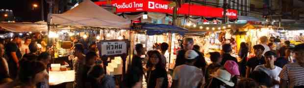 Things to Eat in Hua Hin Night Market
