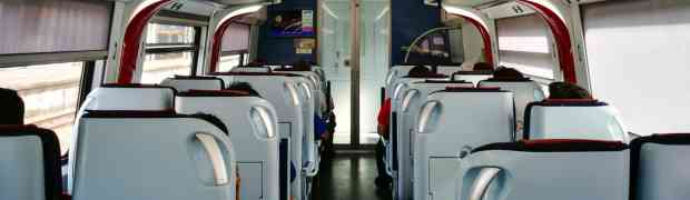 KTM ETS (Electric Train Service) from KL Sentral to Butterworth