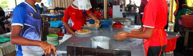 Yusman Roti Canai @ Kampung Limbongan, Melaka