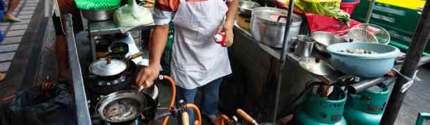 Somsak Pu Ob Seafood Glass Noodle @ Khlong San, Bangkok
