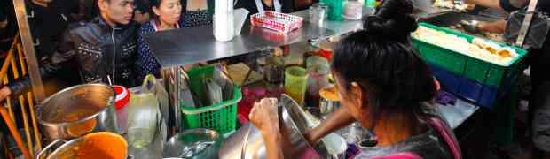 Tasty Toasted Bun @ Yaowarat (Chinatown), Bangkok