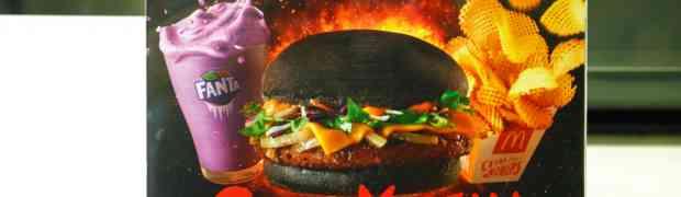 McDonald's Spicy Korean Burger (Burger Korea Pedas)
