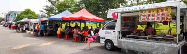 Kaniappan Cendol @ Bukit Tinggi Cendol Street, Klang