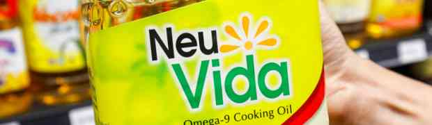 NeuVida Omega-9 Cooking Oil, a World Class Healthy Cooking Oil