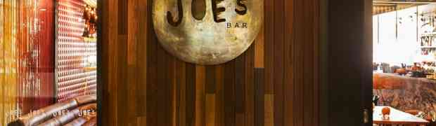 Joe's Bar, Art of Aperitivo Menu, East Hotel, Canberra