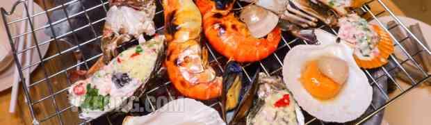 Talaykrata Seafood BBQ Buffet @ Publika (Live Tiger Prawns)