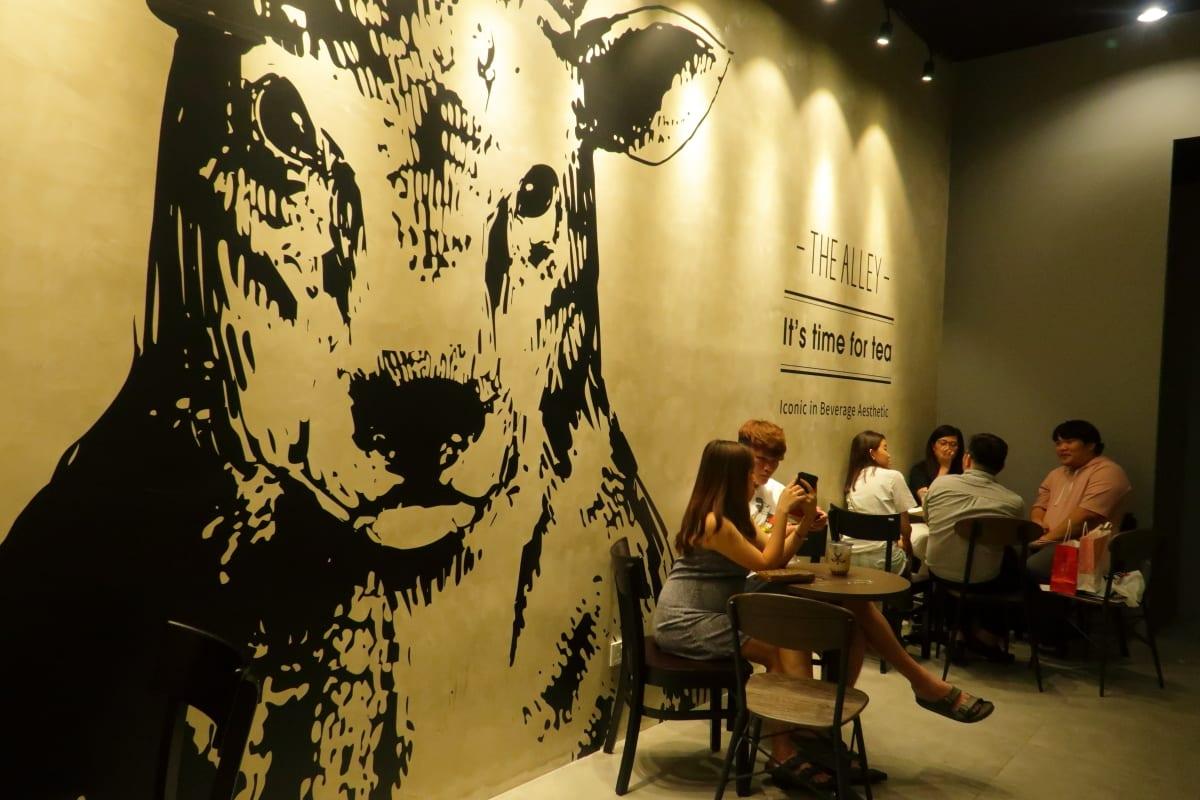 The Alley Bubble Tea Cafe