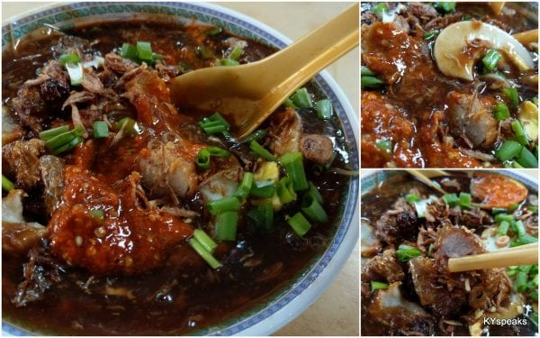 yeap, there's loh bak in this loh mee