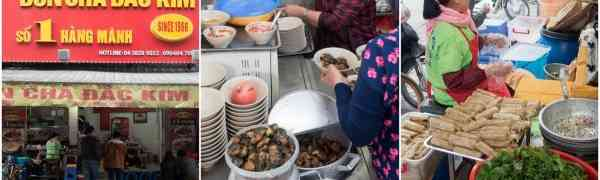 KY eats – Bun Cha Dac Kim, Hanoi, Vietnam