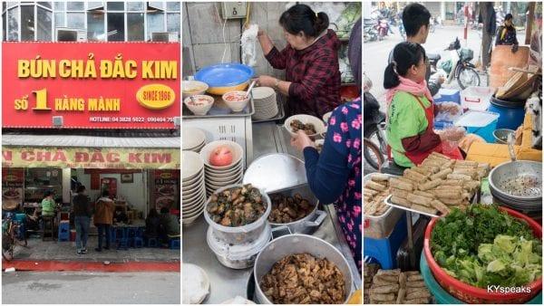 Bun Cha Dac Kim, Hanoi