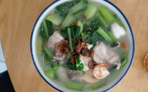 seafood meehun soup