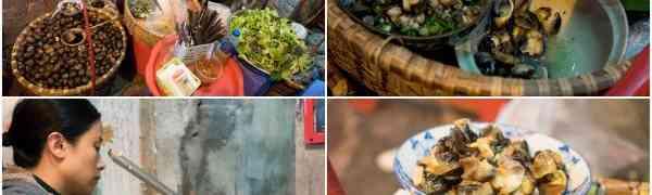 KY eats – Bun Oc (snail soup), Hanoi