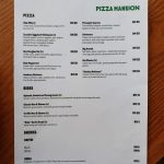 pizza mansion menu