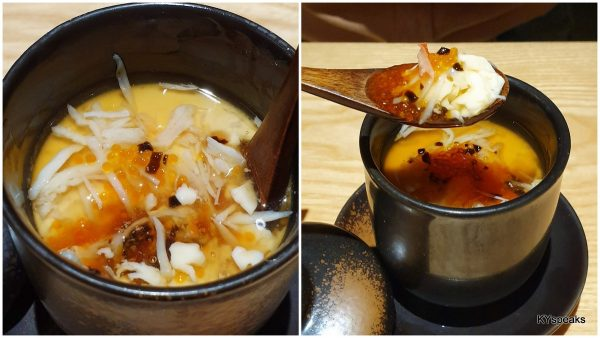 chawanmushi as our hot dish