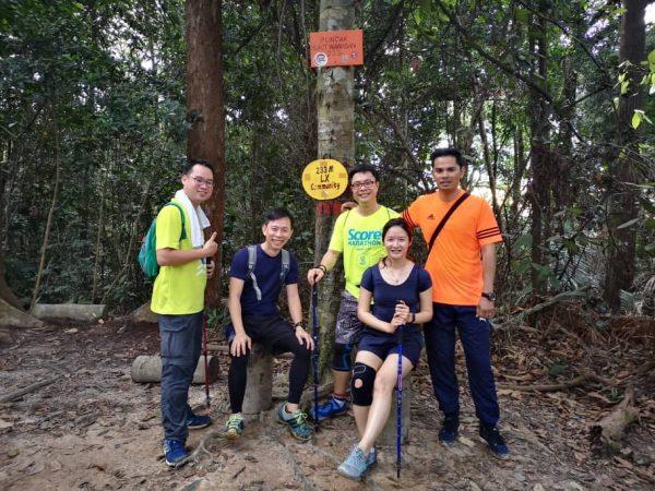 bonus pic - at the peak of Wawasan Hill, Puchong
