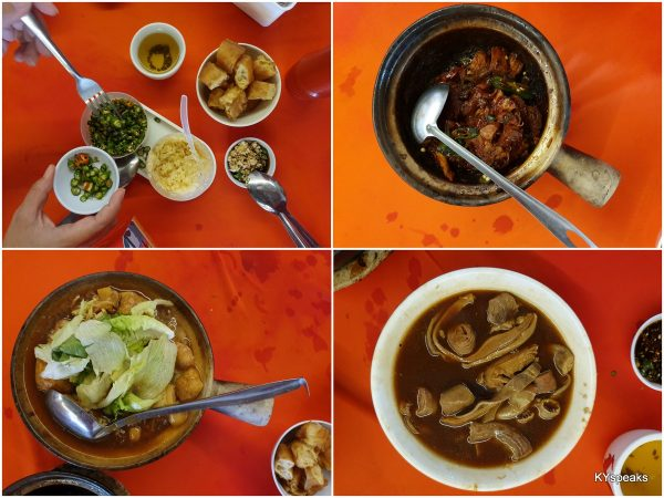 dry bkt, soup bkt, and innards