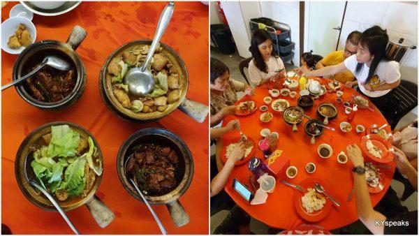 Bak Kut Teh is always best with a big group