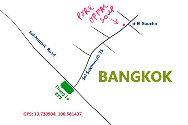 pork offal soup bangkok map