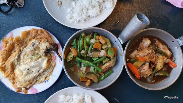 Tortang Talong, Pinakbet, Pork Adobo
