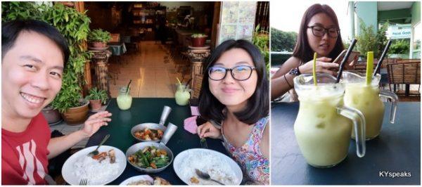 with my KK makan buddy
